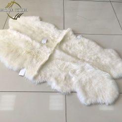 Шкура овечья White single 4x