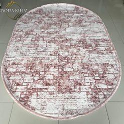 Zarina 2667A Cream Pink Oval