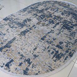 LaCassa 6355A D.Blue Cream Oval